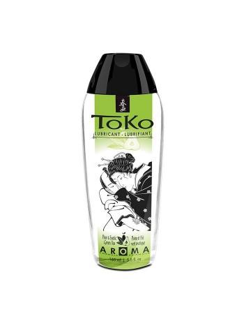 Лубрикант со вкусом груши и экзотического зеленого чая Shunga Toko AROMA - Pear & Exotic Green Tea, 165мл
