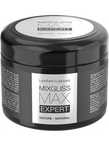 Густая смазка для фистинга и анального секса MixGliss MAX Expert Nature водная основа, 250мл