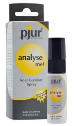 Розслабляючий анальний спрей pjur analyse me! - з пантенолом і алое, 20мл