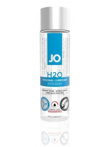 Согревающая смазка с экстрактом перечной мяты System JO H2O Warming, 240мл