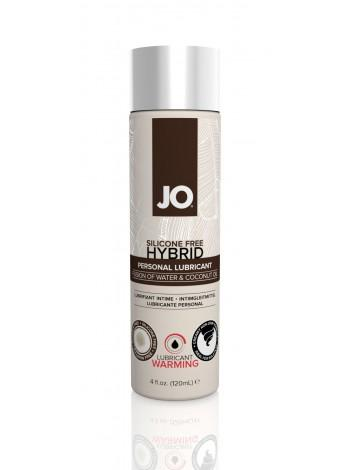 Разогревающий крем-лубрикант с кокосовым ароматом System JO Silicone Free Hybrid WARMING, 120мл