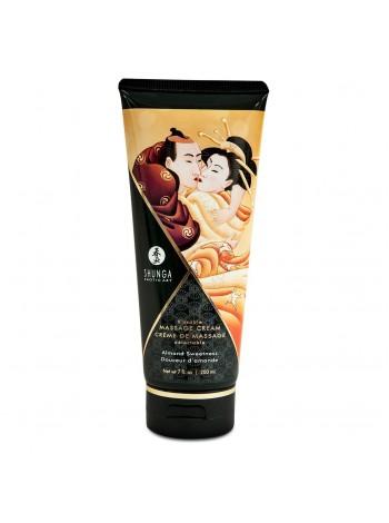 Съедобный массажный крем Shunga Kissable Massage Cream - Almond Sweetness(миндаль), 200мл