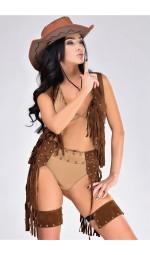 Женский ковбойский костюм