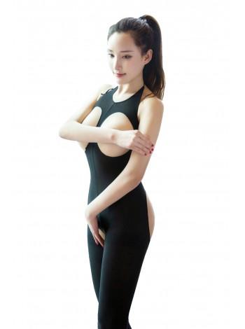 Боди-комбинезон с открытой грудью