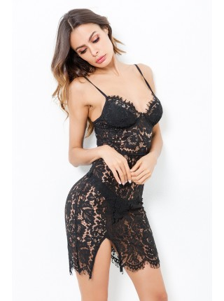 Гіпюрова сукня-комбінація «Зара»