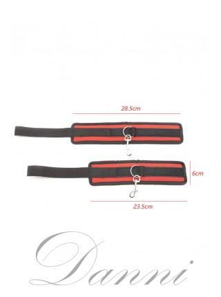 Чорно-червоний комплект для фіксації