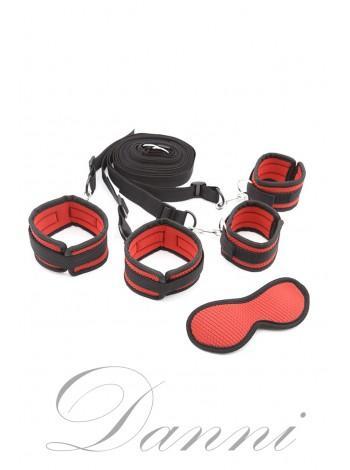 Черно-красный комплект для фиксации