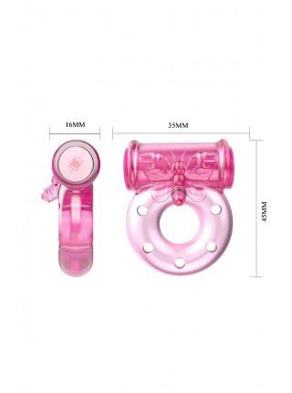 Эрекционное виброкольцо Vibrator & Condom Baile