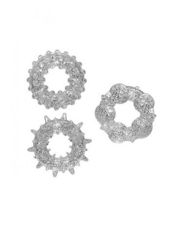 Комплект эрекционных колец Stardust Rings
