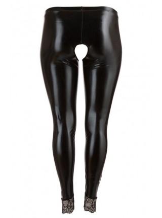 Леггинсы черные Crotchless Leggings