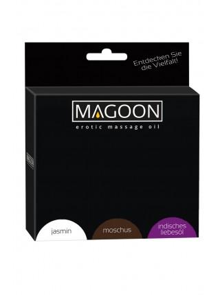 Набір масел для масажу Magoon 3x50 мл