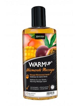 Масло для масажу - WARMup Mango + Maracuya, 150 мл