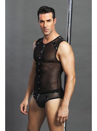 """Черный эротичный костюм """"Macho man"""""""
