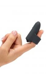 Черный мини-вибратор Secret Touching