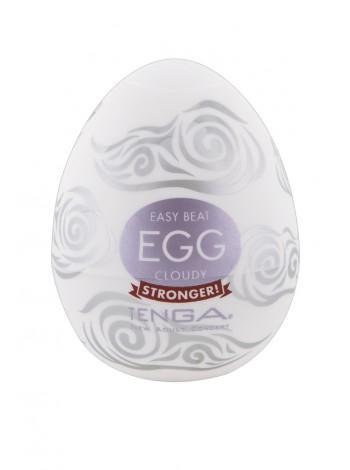 Яйцо-мастурбатор - Egg Cloudy Single