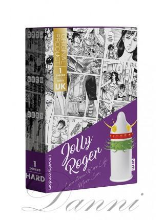 Презерватив з вусиками і кульками EGZO Jolly Roger