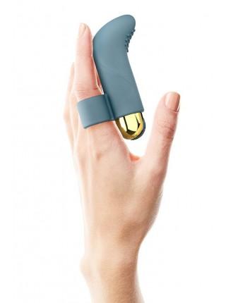 Вібратор на палець TOUCH ME PETROLE