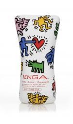Мастурбатор для мужчин Tenga Keith Haring Soft Tube Cup