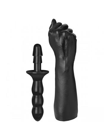 Кулак для фистинга Doc Johnson Titanmen The Fist with Vac-U-Lock Compatible Handle 7,6см
