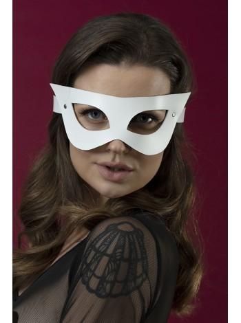 Белая маска на лицо из кожи Feral Feelings - Mistery Mask