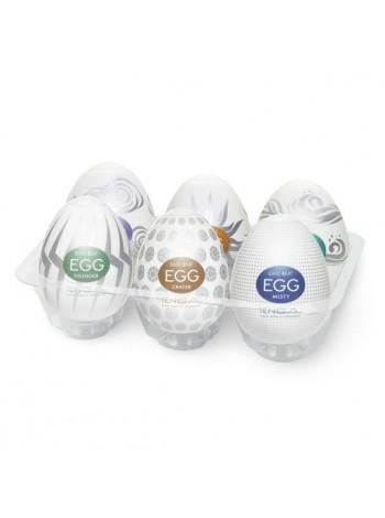 Набор яиц-мастурбаторов Tenga Egg Hard Boild Pack, 6 шт