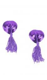 Фіолетові пестіси на груди