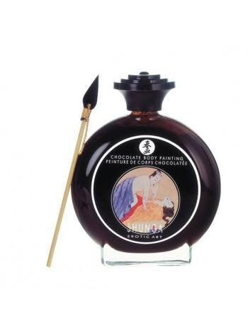 Съедобная краска для тела Shunga BODYPAINTING - Aphrodisiac chocolate, 100мл