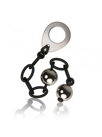 Металлические вагинальные шарики Rocks Off Love in Chains 140г